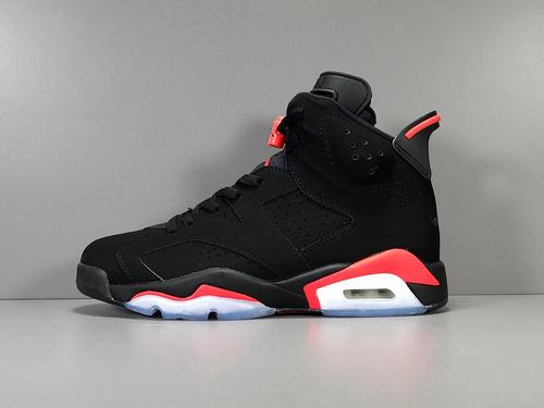 "GOD神版_AJ6 黑红 Air Jordan 6 ""Black Infrared"" 2019版本_莆田鞋god版是什么意思"