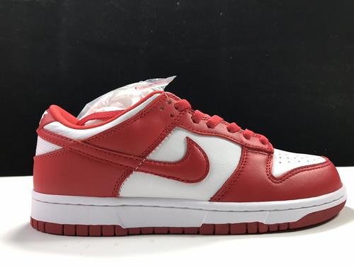 【性价比Y3版:DUNK】 白红  NIKE  DUNK LOW SP,货号:CU1727-100_ljr是从莆田发货吗