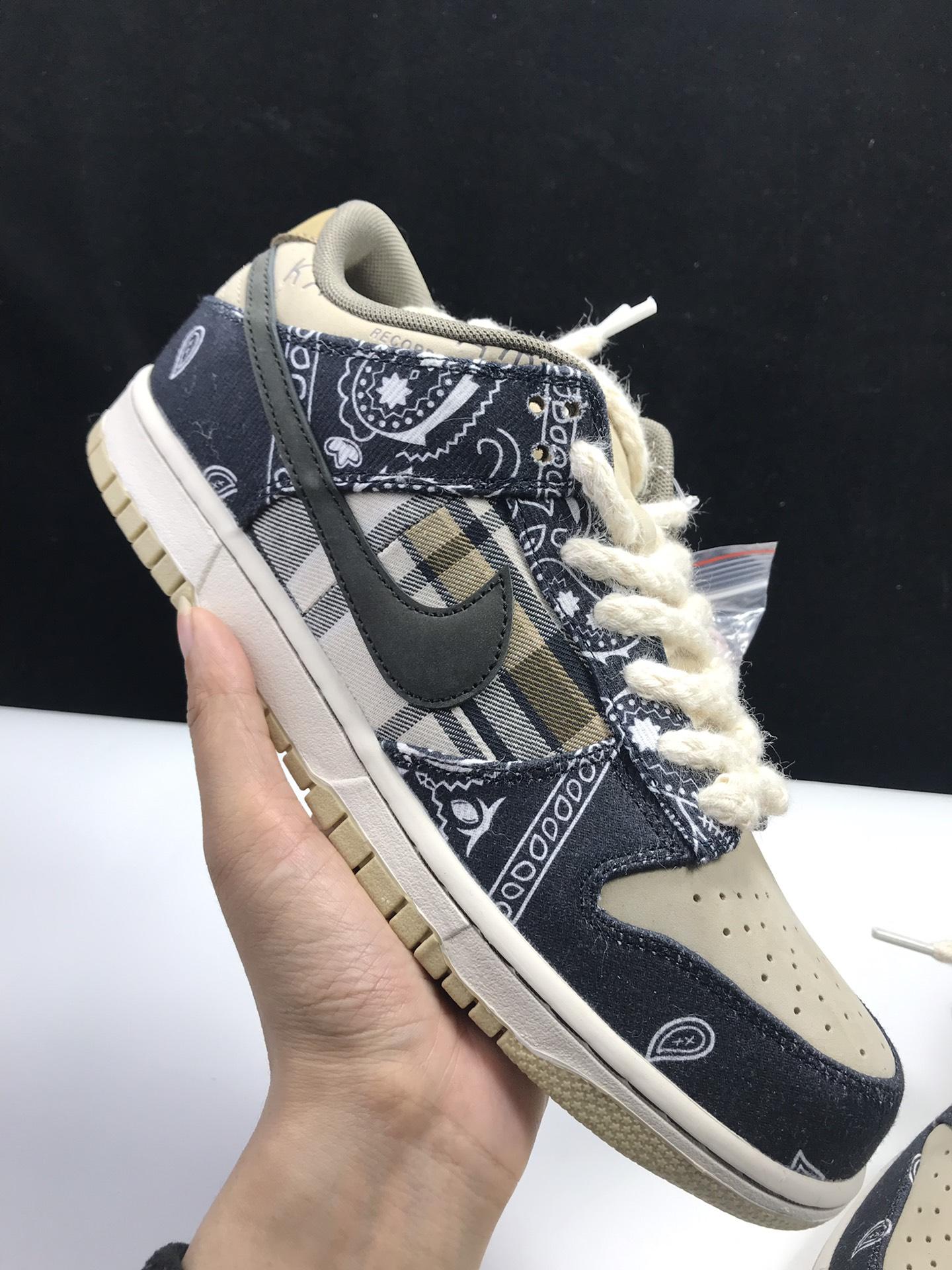 【S2版:TS DUNK】 3.0腰果花  Travis Scott x SB Dunk,货号:CT5053-001_ljr版本有什么鞋做得好的