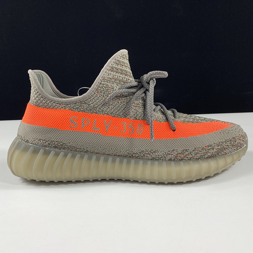 东莞L Yeezy 350V2 Real Boost Basf BB1826 阿迪达斯椰子350二代 灰橘 巴斯夫Boost原底_ljr版本