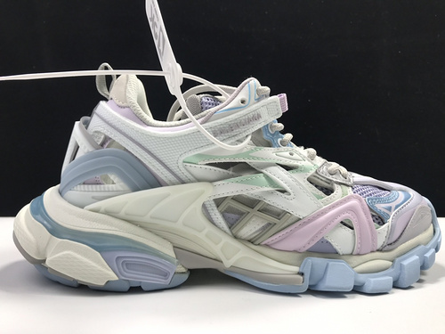 Balenciaga Track 2 Sneakers 巴黎世家轨道2代_莆田god版什么意思
