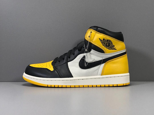 X版_AJ1 黄脚趾 莞产 Air Jordan 1 Retro High OG,货号_AR1020-700_莆田x版鞋子