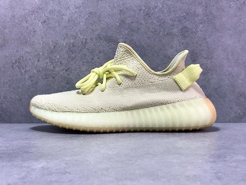 OG版_350V2 奶油黄 adidas yeezy 350 V2 boost,货号_F36980_纯原og与og毒版