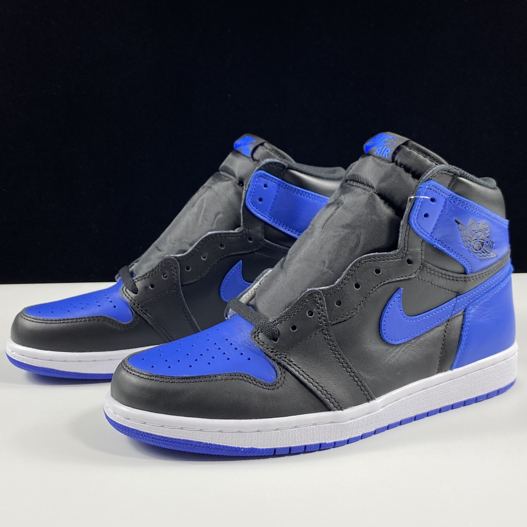 Air Jordan 1 OG RetroRoyal皇家黑蓝 555088-007_ljr版本有女码