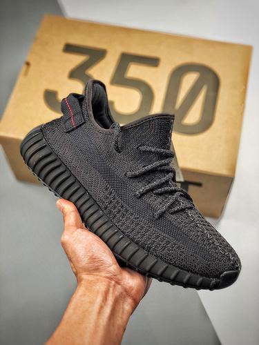 """Yeezy 350 Boost V2  """"Black""""  3M 黑满天星 黑满天星 货号:FU9007_特供版aj是啥意思啊"""
