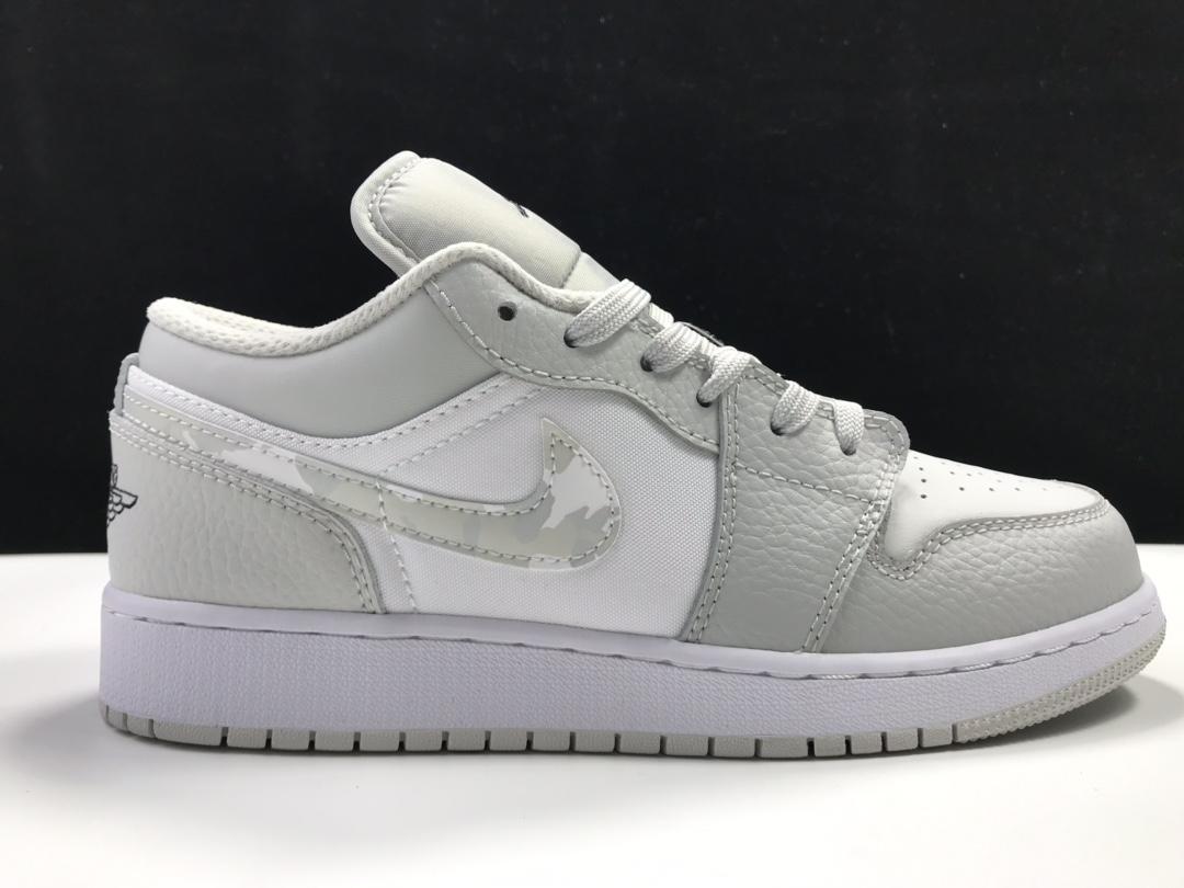 【莞L版:AJ1 Low】 灰白迷彩 Air Jordan 1 low OG,货号:DD3234-100_ljr的版本在哪里买