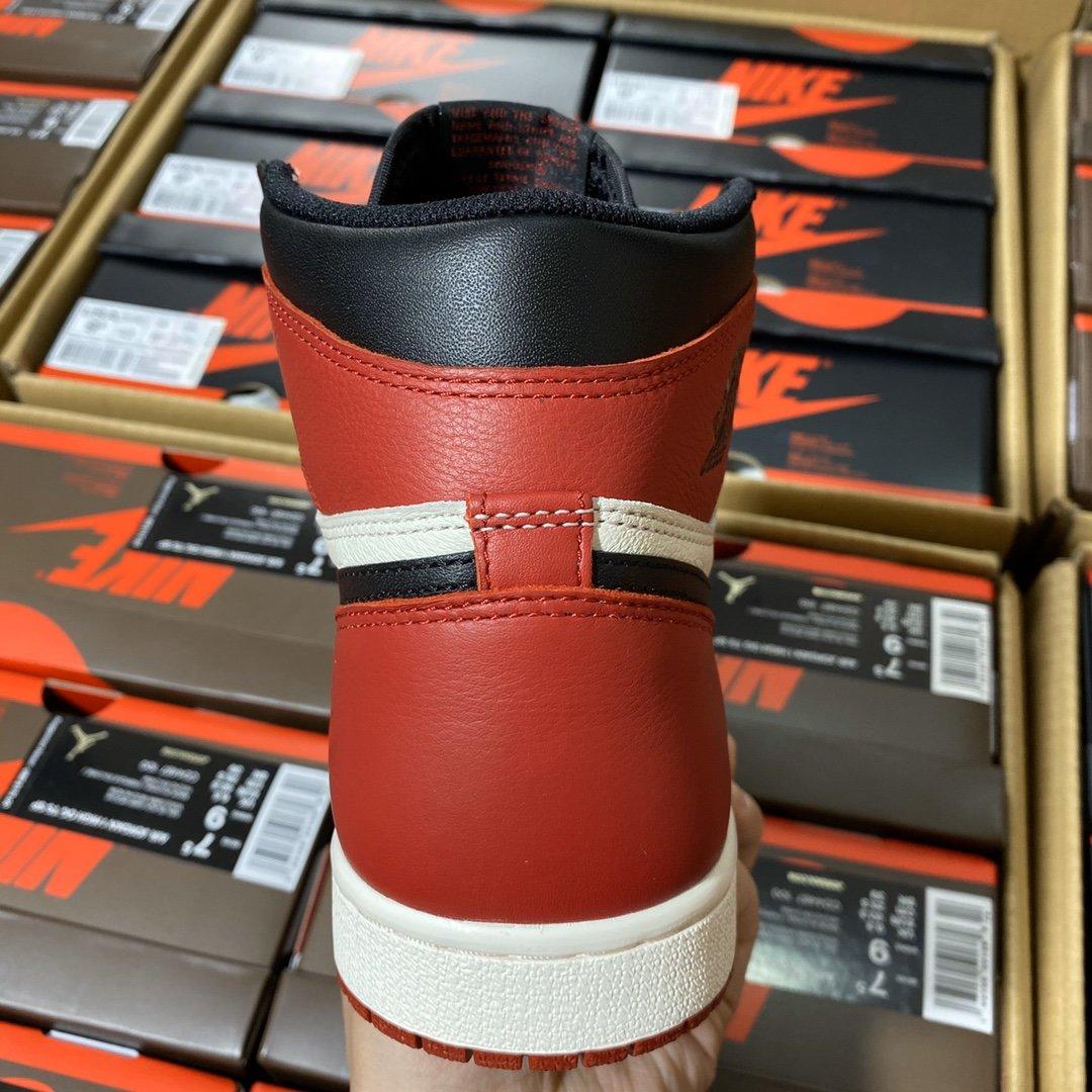 "LJR版本 Air Jordan 1 Retro OG High ""Bred Toe"" GS 2018款 黑脚趾2.0配色 575441-610_ljr版本禁止转卖"