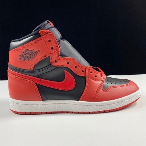 """东莞L Air Jordan 1 Hi 85 """"Varsity Red"""" 反转黑红配色 BQ4422-600_莆田god版本鞋是什么意思"""