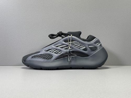 """X版纯原_700V3 全黑  Adidas Yeezy 700 V3 """"Alvah"""",货号_H67799_莆田鞋xp版什么意思"""