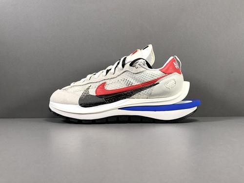 【纯原版:双勾3.0】灰白  sacai x Nike VaporWaffle 货号:CV1363-100_莆田god版鞋子
