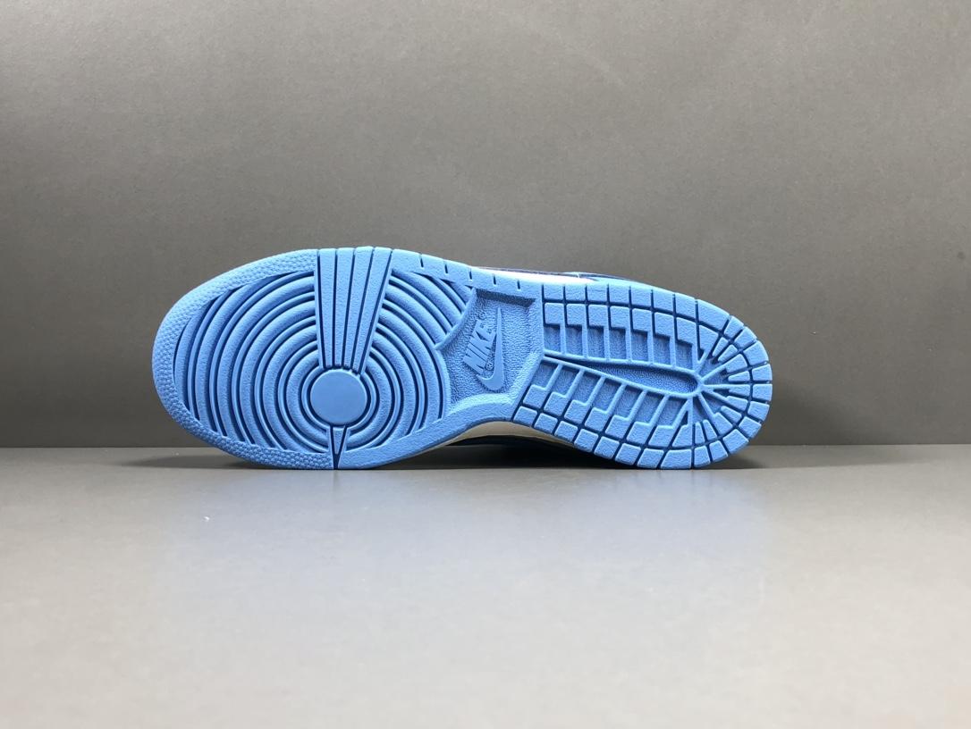 """【纯原版:DUNK】 北卡蓝  NIKE DUNK LOW """"Coast""""货号:DD1503-100_莆田god版本鞋是什么意思"""