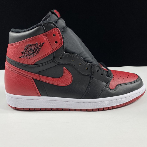 "Air Jordan 1 Retro OG High ""Banned"" 东莞AJ黑红禁穿 555088-001_ljr版本微信"