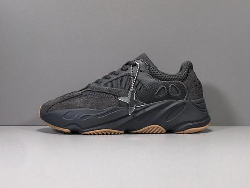 X版_700 小方黑 Adidas Yeezy 700 UTIBLK,货号_FV5304_莆田x版本