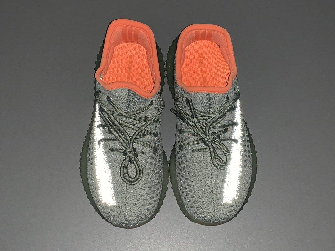 OG版_350V2童鞋 哈密瓜  Yeezy boost 350V2 kids,货号_FX9037_椰子350og版本怎么样