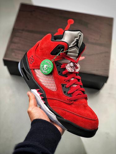 Air Jordan 5 Raging BullS2纯原生产线 渠道裸鞋级产物_金手指主打s2