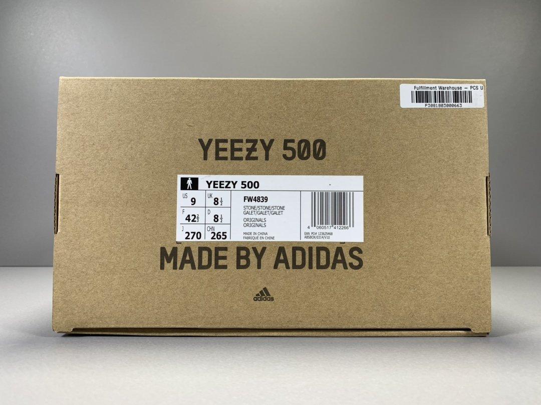 """OG版_椰子500 土黄 阿迪达斯 adidas yeezy 500 """"STONE"""",货号_FW4839_og版椰子350什么价格"""
