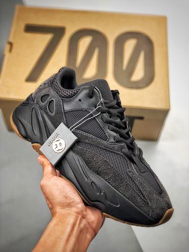 "Yeezy 700 Boost ""UTILITY BLACK""  BLACK纯黑武士  货号:FV5304_s2纯原aj6"