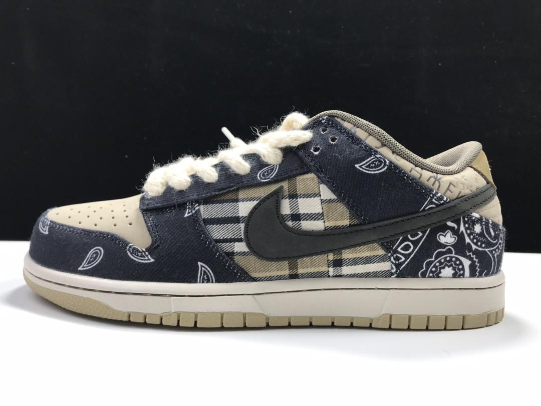 S2版:TS DUNK 3.0腰果花  Travis Scott x SB Dunk,货号:CT5053-001_哪里有ljr版本的鞋子