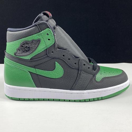"Air Jordan 1 ""Pine Green""货号:555088-030 乔1黑绿_莆田get和ljr版本"