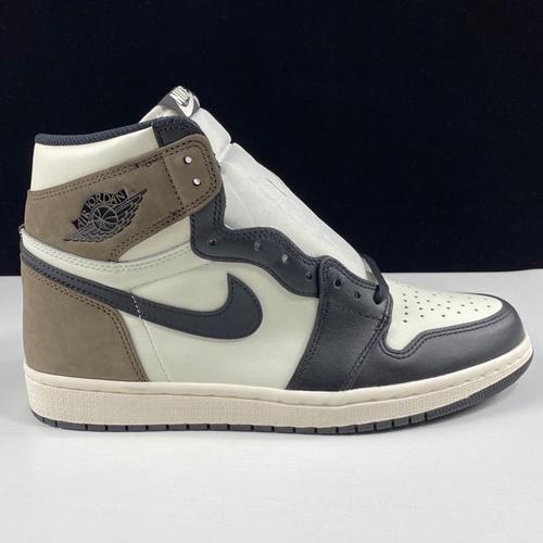 "Air Jordan 1 High OG"" Dark Mocha"" 黑摩卡 555088-105_莆田god版鞋子"