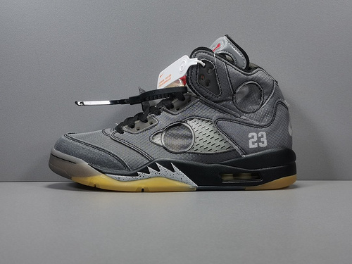OG版_OW X AJ5 AJ5黑  Off-white x Air Jordan Retro 5 SP ,货号_CT8480-001_og版椰子是最高版吗