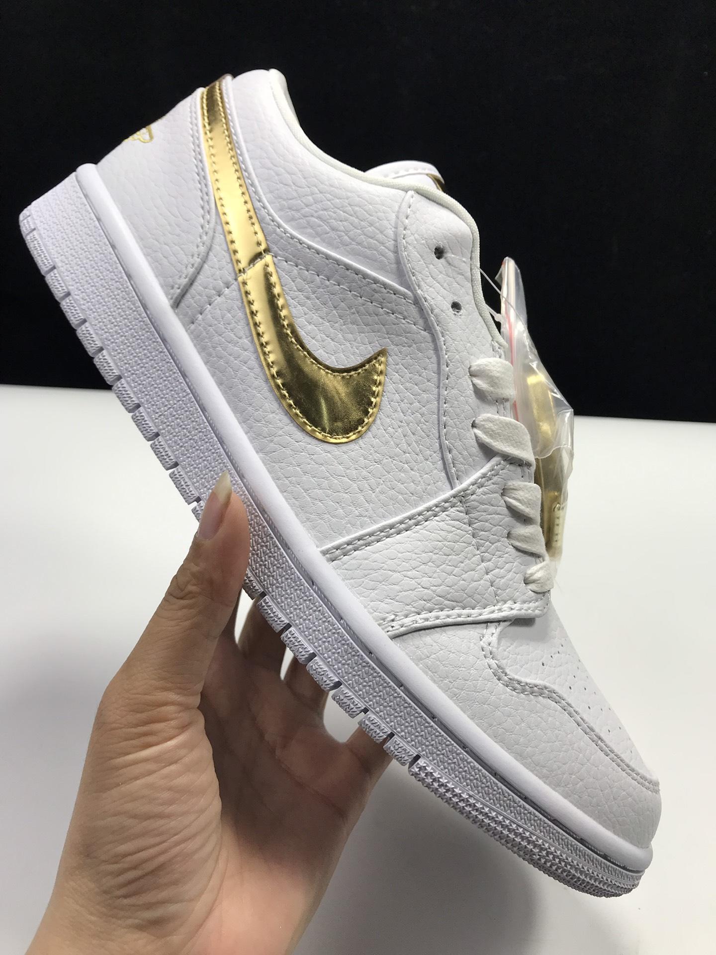 【莞L版:AJ1 Low】金钩白 Air Jordan 1 low OG,货号:CZ4776-100_鞋ljr是什么版本