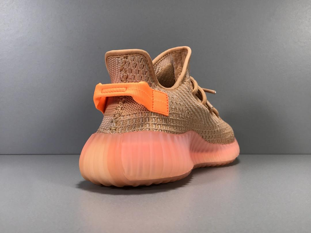 "OG版_350V2 兵马俑 Adidas Yeezy Boost 350 V2 ""Clay"",""美洲限定珊瑚橙"",货号_EG7490_椰子350公司级版本怎么样"