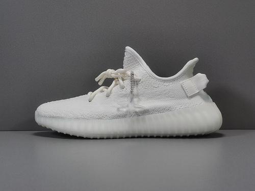 """X版纯原_350V2 纯白 adidas yeezy boost 350 V2 """"CWHITE"""" ,货号_C6_莆田鞋x版本是什么意思"""