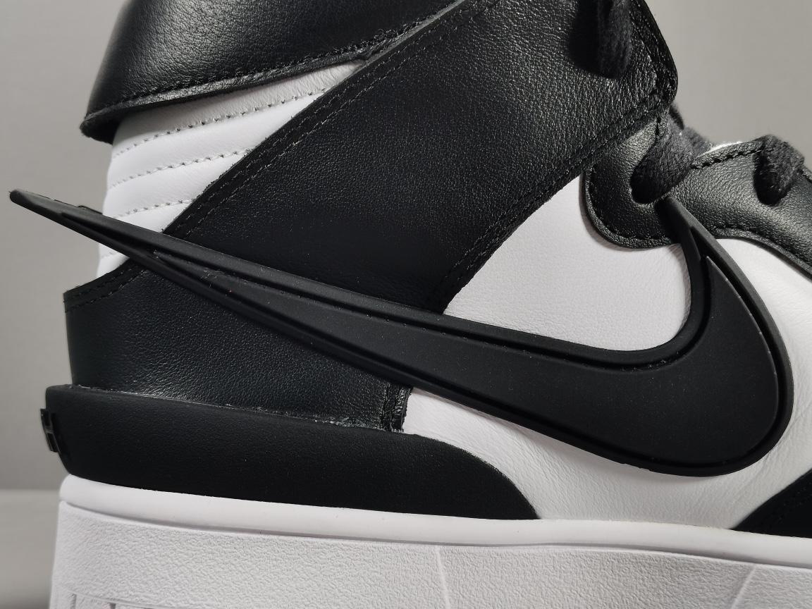 """【GOD版:DUNK】黑白 Nike Dunk High """"Black""""货号:313170-342_莆田god版本和h12版本哪个好"""