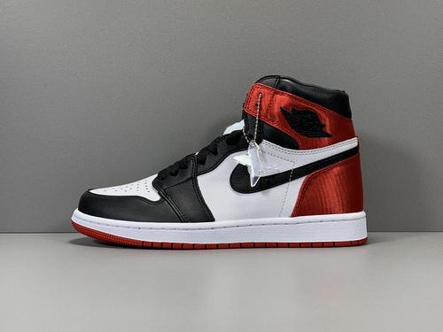 X版_AJ1 丝绸黑脚趾 莞产 Air Jordan 1 Retro High OG,货号_CD0461-016_x版莆田鞋是什么意思