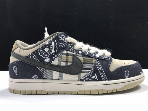 【S2版:TS DUNK】 3.0腰果花  Travis Scott x SB Dunk,货号:CT5053-001_莆田god版鞋子
