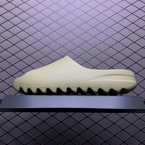 Original Yeezy Slide  Resin FX0494 豆绿_椰子500反光