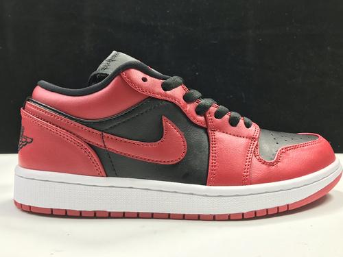 莞H版:AJ1 Low反转禁穿低帮 Air Jordan 1 low OG,货号:553558-606_莆田god版本鞋做的怎么样