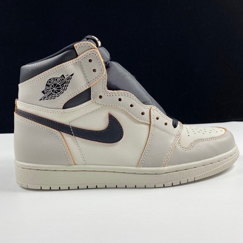 "aj1白灰刮刮乐LJR版 Nike SB x Air Jordan 1 Retro High OG ""Light Bone"" 鞋面可刮开 白黑刮刮乐配色 CD6578-006_ljr版本和h12"