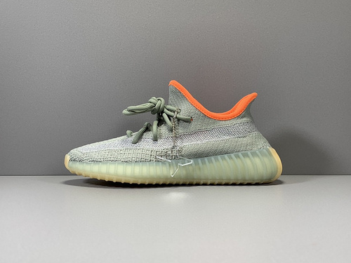 """X版纯原_350V2 灰橙银河 adidas yeezy boost 350 V2 """"DESSAG"""" ,货号_FX9035_莆田鞋xp版什么意思"""