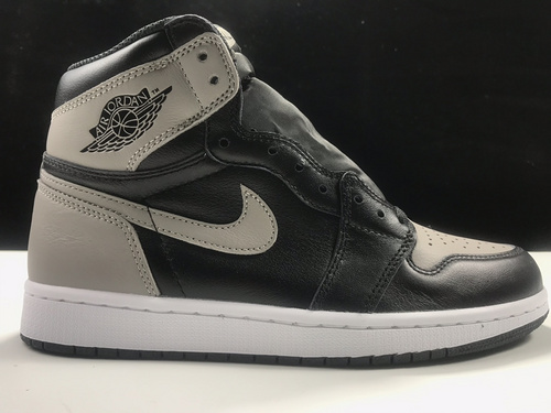 莞L版:AJ1影子灰  莞产 Air Jordan 1 Retro High OG,货号:555088-013_ljr版本有什么鞋做得好的