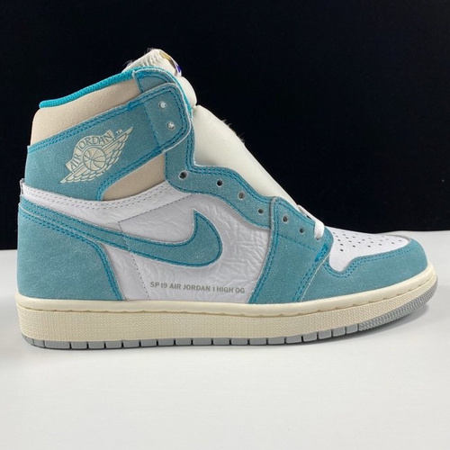 "Air Jordan 1 Retro High OG ""Turbo Green""裕LJR版本蒂芙尼配色 555088-311_汪版本和ljr"