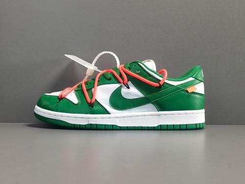 纯原版_DUNK OW_ OFF-WHITE x Nike Dunk Low,货号:DD0856-801_怎么洗白椰子