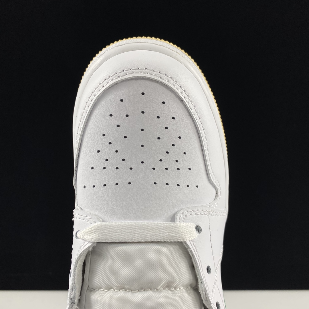 """东莞L Air Jordan 1 Mid SE GS""""Paint Drip""""AJ1乔丹一代中帮经典复古文化休闲运动篮球鞋""""油漆白粉冰淇淋""""DD1666-100_莆田god版鞋子"""