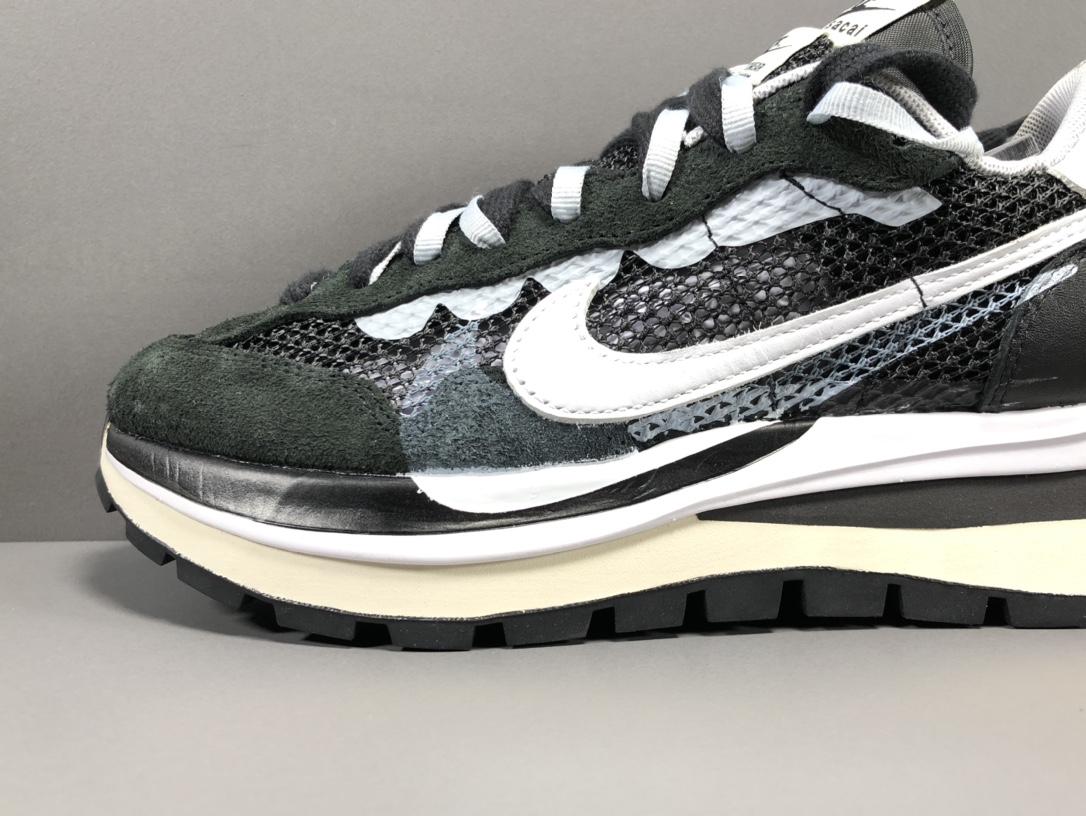 【纯原版:双勾3.0】黑  sacai x Nike VaporWaffle 货号:CV1363-001_莆田god版鞋子