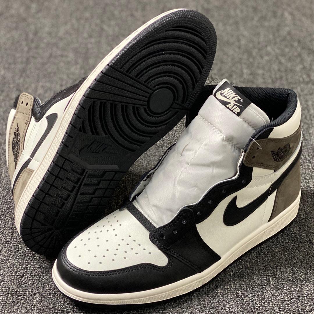 Air Jordan 1 High OG「Dark Mocha」AJ1 乔1小倒钩 555088-105_ljr版本好还是get版本好