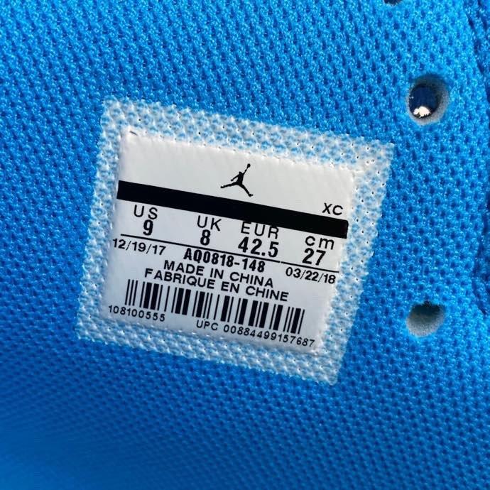 LJR Air Jordan 1 x OFF-WHITE AJ1 OW联名 北卡蓝 AQ0818-148_如何分辨ljr版本倒钩