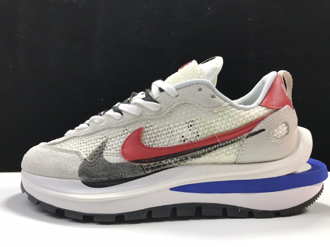 【y3版:双勾3.0】白红 sacai x Nike VaporWaffle 货号:CV1363-100_ljr版本一般价格