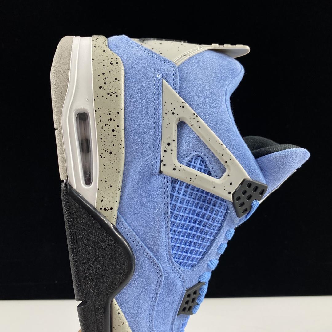 """莞顶L 【L版:AJ4】大学蓝 AIR JORDAN 4 SE """"University Blue"""" 货号:CT8527-400 尺码:40-46(含半码),品质上乘,经典款!_莆田鞋god版是什么意思"""