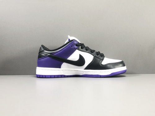 "【纯原版:DUNK】黑紫 NIKE SB Dunk Low PRO""Court Purple""货号:BQ6817-500_莆田鞋x版aj"