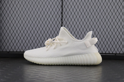 PK纯白 Adidas Yeezy 350V2 All White Real Boost Basf CP9366 阿迪达斯椰子350二代 荧光白_pk工厂 ko集团