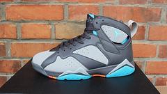 """乔7山猫 男款 原装标 Air Jordan 7 """"Bobcats"""" """"Barcelona Days 304775-016 鞋码:41-47.5"""