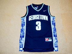 NCAA 大学版 3号 艾弗森 深蓝色 新面料球衣