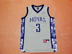 NCAA 大学版 3号 艾弗森 灰色 新面料球衣