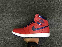 乔丹/Air Jordan 【超A】 AJ1 乔丹1代 乔1 AJ1 男鞋 篮球鞋 高帮 乔丹1代系列 Air Jordan 1 Retro OG   乔1红蓝 货号:555088-606 40-46